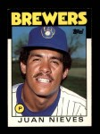 1986 Topps Traded #79 T Juan Nieves  Front Thumbnail