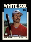 1986 Topps Traded #115 T Wayne Tolleson  Front Thumbnail