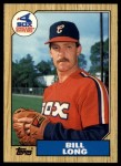 1987 Topps Traded #67 T Bill Long  Front Thumbnail