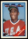 1988 Topps Traded #44 T  -  Ty Griffin Team USA Front Thumbnail