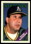 1988 Topps Traded #46 T Ron Hassey  Front Thumbnail