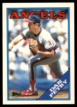 1988 Topps Traded #85 T Dan Petry  Front Thumbnail