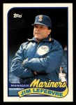 1989 Topps Traded #70 T Jim LeFebvre  Front Thumbnail