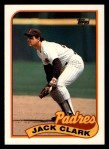 1989 Topps Traded #20 T Jack Clark  Front Thumbnail