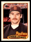 1989 Topps Traded #56 T Chris James  Front Thumbnail