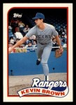 1989 Topps Traded #15 T Kevin Brown  Front Thumbnail