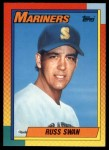 1990 Topps Traded #121 T Russ Swan  Front Thumbnail