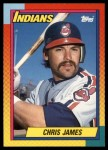 1990 Topps Traded #46 T Chris James  Front Thumbnail