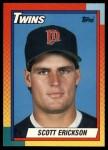 1990 Topps Traded #29 T Scott Erickson  Front Thumbnail