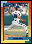 1990 Topps Traded #24 T Mark Davis  Front Thumbnail