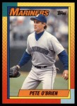 1990 Topps Traded #82 T Pete O'Brien  Front Thumbnail