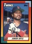1990 Topps Traded #85 T Junior Ortiz  Front Thumbnail