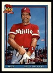 1991 Topps Traded #3 T Wally Backman  Front Thumbnail