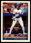 1991 Topps Traded #23 T Vince Coleman  Front Thumbnail