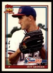 1991 Topps Traded #49 T  -  Jeff Granger Team USA Front Thumbnail