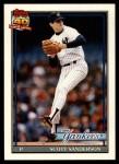 1991 Topps Traded #104 T Scott Sanderson  Front Thumbnail
