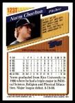 1993 Topps Traded #123 T Norm Charlton  Back Thumbnail