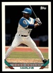 1993 Topps Traded #35 T Greg Briley  Front Thumbnail