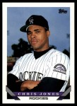 1993 Topps Traded #102 T Chris Jones  Front Thumbnail