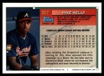 1994 Topps Traded #35 T Mike Kelly  Back Thumbnail