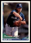1994 Topps Traded #26 T Darren Hall  Front Thumbnail