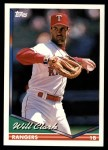 1994 Topps Traded #115 T Will Clark  Front Thumbnail