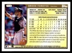 1999 Topps Traded #110 T Brook Fordyce  Back Thumbnail