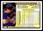 1999 Topps Traded #118 T Terry Mulholland  Back Thumbnail