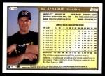 1999 Topps Traded #106 T Ed Sprague  Back Thumbnail