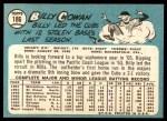 1965 Topps #186  Billy Cowen  Back Thumbnail