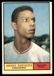 1961 Topps #183 ERR Andre Rodgers  Front Thumbnail