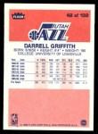 1986 Fleer #42  Darrell Griffith  Back Thumbnail