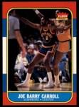 1986 Fleer #14  Joe Barry Carroll  Front Thumbnail