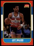 1986 Fleer #67  Jeff Malone  Front Thumbnail