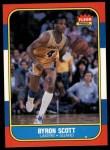 1986 Fleer #99  Byron Scott  Front Thumbnail