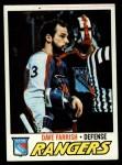 1977 Topps #179  Dave Farrish  Front Thumbnail