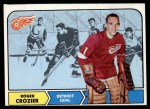 1968 Topps #23  Roger Crozier  Front Thumbnail