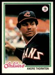 1978 Topps #148  Andre Thornton  Front Thumbnail
