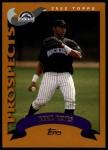 2002 Topps Traded #115 T Rene Reyes  Front Thumbnail
