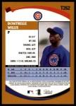 2002 Topps Traded #262 T Dontrelle Willis  Back Thumbnail