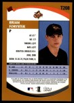 2002 Topps Traded #208 T Brian Forystek  Back Thumbnail