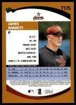 2002 Topps Traded #175 T James Barrett  Back Thumbnail