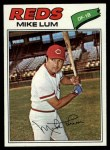 1977 Topps #601  Mike Lum  Front Thumbnail