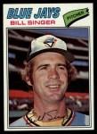1977 Topps #346  Bill Singer  Front Thumbnail