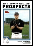 2004 Topps Traded #96 T Dustin McGowan  Front Thumbnail