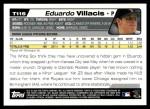 2004 Topps Traded #115 T  -  Eduardo Villacis First Year Back Thumbnail