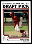 2004 Topps Traded #73 T Greg Golson  Front Thumbnail