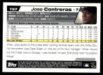 2004 Topps Traded #57 T Jose Contreras  Back Thumbnail