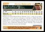 2004 Topps Traded #75 T Richie Robnett  Back Thumbnail
