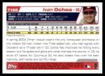 2004 Topps Traded #198 T  -  Ivan Ochoa First Year Back Thumbnail